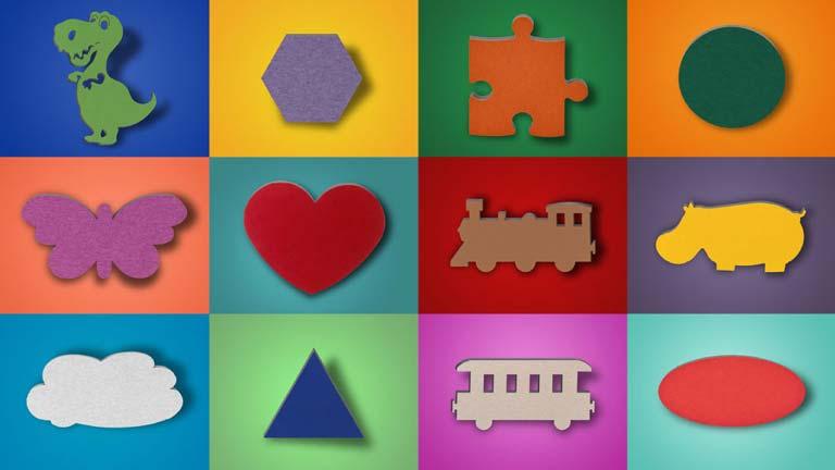 Absorbeurs de son aixFOAM Motif - Absorbeurs de son en motifs colorés