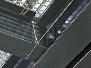 Adaptateur de système de câble pour supports en T pour système de câble aixFOAM Uno/ Duo