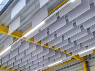 Baffles acoustiques Industry