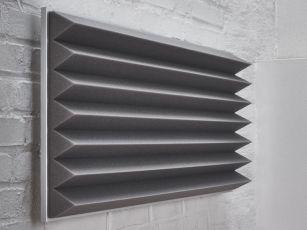 Absorbeurs de bruit premium avec profil triangulaire