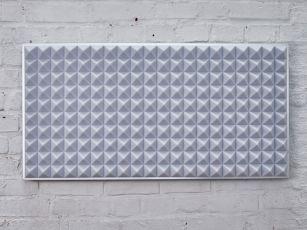 Absorbeurs de bruit premium avec profil pyramidal