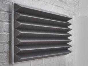 Absorbeur de bruit à profil triangulaire