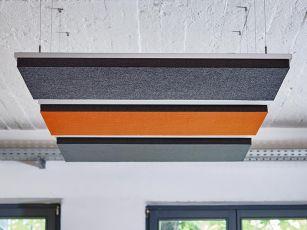 Absorbeur acoustique design rectangulaire